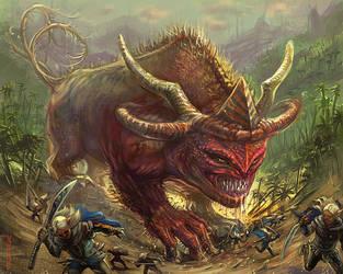 Big beast by bocho