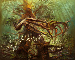 Ancient Treant by bocho