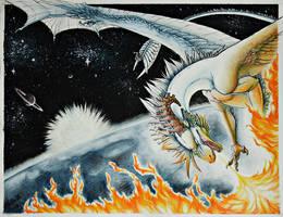 Set the world on fire by Dreikaz