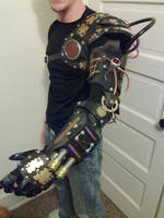 Steampunk bionic arm v1.0 by AndroidVeins