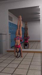 Freedom U - Handstand by drakonrenders