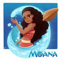 Moana by Chanai-Ai