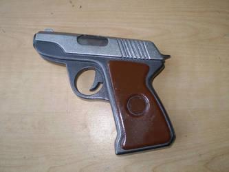 Team Fortress 2 pistol by grimdarkkommissar