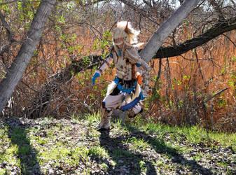 Monster Hunter, Run! by grimdarkkommissar