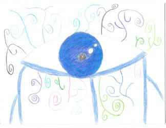 Art Tear Eye by werecass