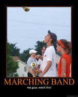 Marching Band: Alex by StuntzTheDude