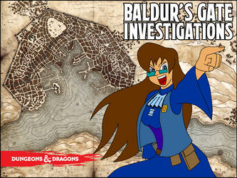 Baldur's Gate Investigations by davidfoxfire