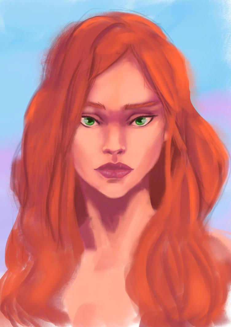 Redhair by Silva-san