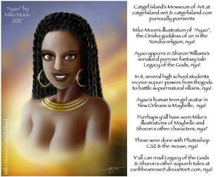 Ayao, Goddess of the Air and Sky... by CaribbeanRose9