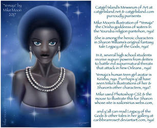 Yemaja, Goddess of the Oceans, Seas, and Waters... by CaribbeanRose9