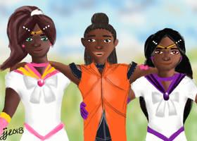 When Heroes Meet part II by CaribbeanRose9