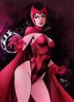 Scarlet Witch by Sorathepanda