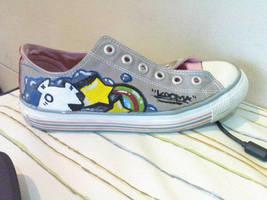 Kooma Custom canvas shoe by Kooma1306