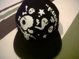 Kooma Custom Cap Skull front by Kooma1306