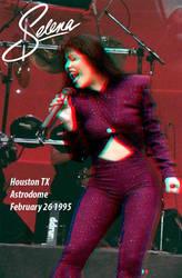 Selena Concert 3-D Astrodome by Xenomorph71
