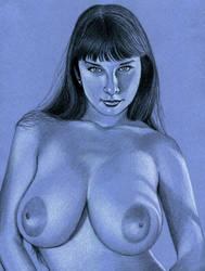 Yulia 'Feeling Blue' by Xenomorph71