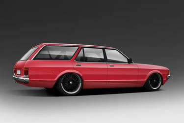 Ford granada wagon by Mafiak13