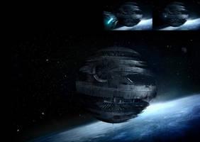 star wars: Death Star by chinko724