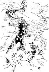 Beta Ray Bill Commission by JeffStokely