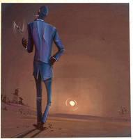 Spy sunset by ChemicalAlia