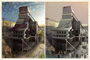 Abandoned Mine I by ChemicalAlia