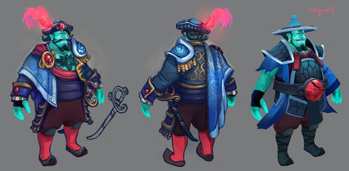 Storm Spirit set concept by ChemicalAlia