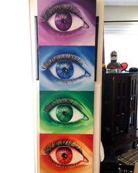 The Eye Series by haleyjtemin