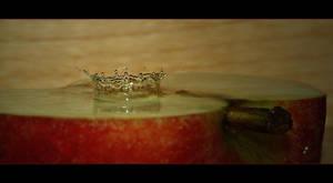 Apple splash by Katosu