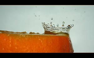 Orange splash by Katosu