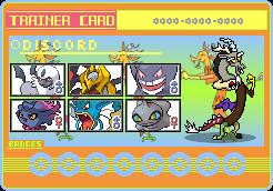 Discord Trainer Card by SeaAndSunshine