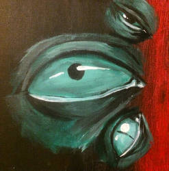 Green vibe by CrazyLittleBlakcWolf