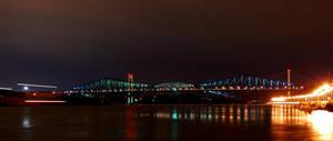 Quebec Bridge by juliuslg