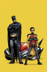 Batman and Robin by sinccolor
