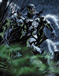 Black Lantern Batman by sinccolor