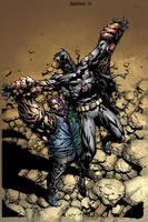 Dark Knight 2 Cover by sinccolor