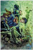 Justice League 2 Cover by sinccolor