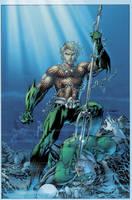 Justice League No.4 Combo CVR by sinccolor