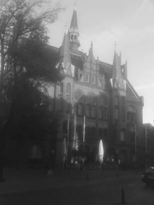 town hall by Dreikun