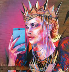 Mirror Mirror by KIRAN-X-MECHANIZED