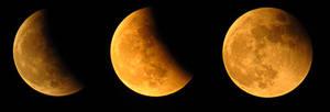 Partial eclipse ends by BlueTF