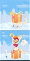 Rikanah Solid Present comic by Genecipher