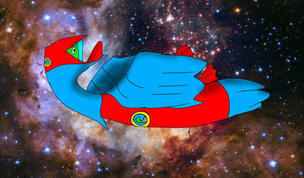 Space Duck by Rosanna-Bradley