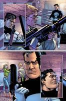 Punisher War Journal 20 p13 by Aburto