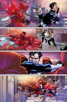 Punisher War Journal 20 p17 by Aburto