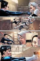 Punisher War Journal 21 p12 by Aburto