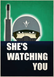 She's Watching You by KingWillhamII