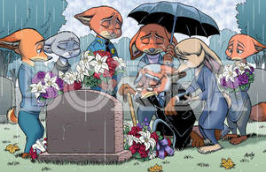 Judy's Burial by borba