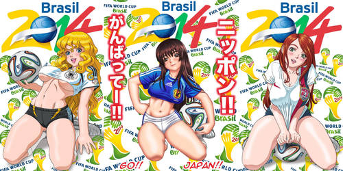 2014 World Cup Brazil Combo by borba