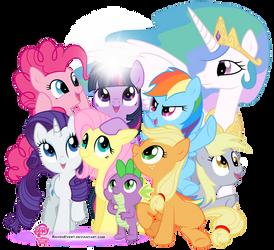 My Little Pony - Friendship is Magic by RavenEvert