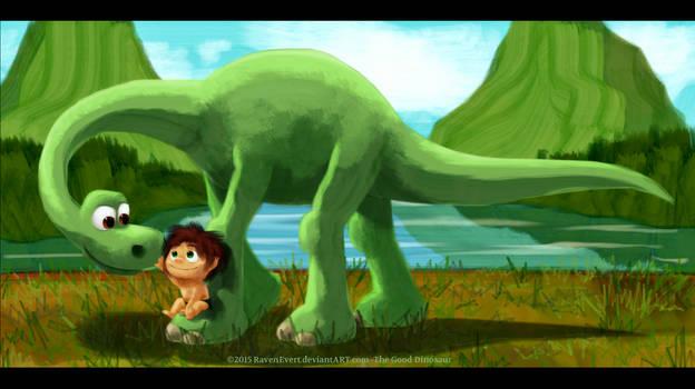 The Good Dinosaur by RavenEvert